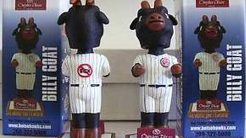 The Boise Hawks will give away Billy Goat bobbleheads once again.