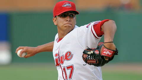 Castillo compiled a 3.92 ERA at Class A Greenville before his promotion.