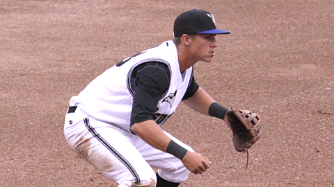 Jake Lamb leads Pioneer League third basemen with a .959 fielding percentage.