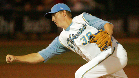 Ben Rowen earned Reliever of the Year honors in the Carolina League.